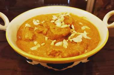 Recipe Contest Winner: Badami Marghi – Chicken cooked with Almond Paste.
