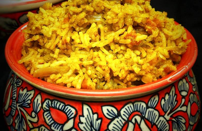 Recipe Contest Winner: Biryani Rice Recipe