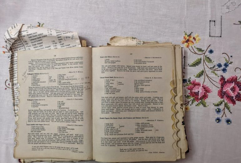 Cooking with the Time & Talents Club Book