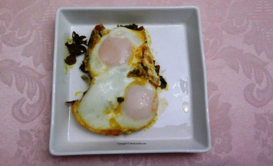 Fenugreek Eggs (Parsi Methi per Edu)