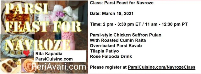 Save your spot for the Navroze Class