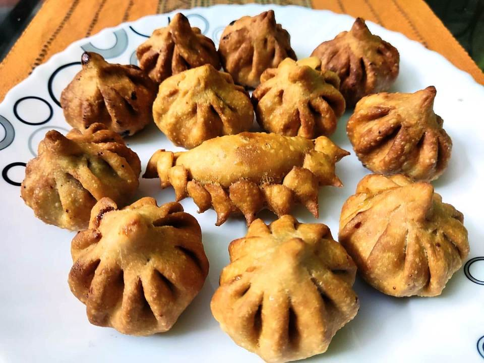 Modak - Meaning and metaphor  Fried and Steamed  Karanji
