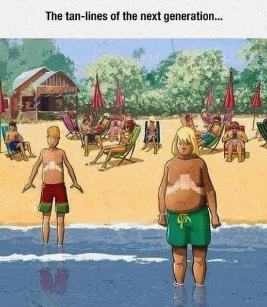 Tan Lines Of The Next Generation