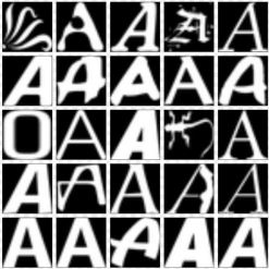 deep-learning-letter-a