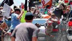 Charlottesville White Supremacists Car