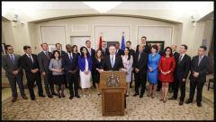 Kenny 2019 Alberta Cabinet Photo