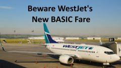 bad Westjet Basic Fare