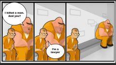 lawyer in prison joke