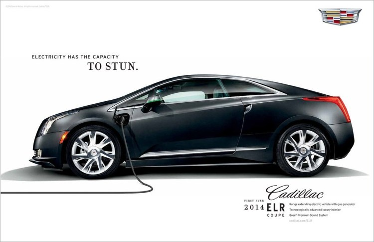 2014 Cadillac ELR Plugged in