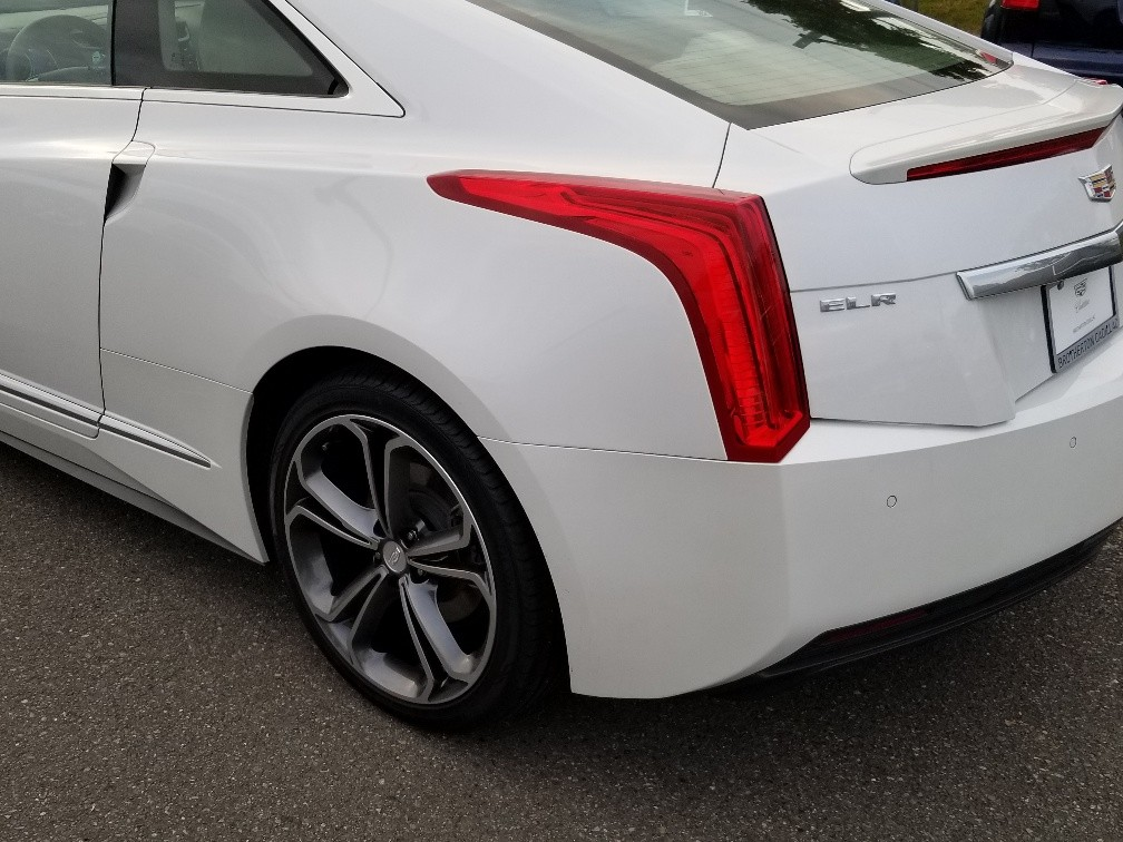 2016 ELR White rear