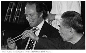 PE Trudean Zhoi Enlai Oct 1973