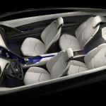 Cadillac Converj Concept PHEV - white interior
