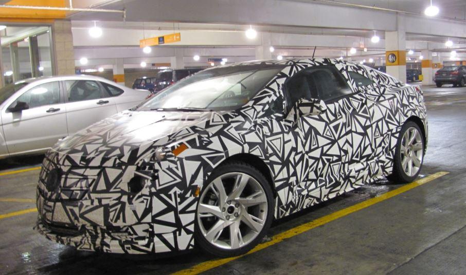 Cadillac ELR Test Mule - parking lot