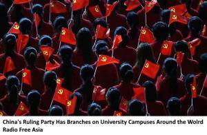 Chinas Ruling Party Has Branches on University Campuses Around The World