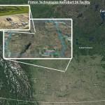 Proton Technologies Kerrobert SK Facility Map