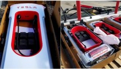 Telsa version 3 Super Chargers Regina Uncrated