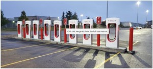 Telsa version 3 Super Chargers Regina operational