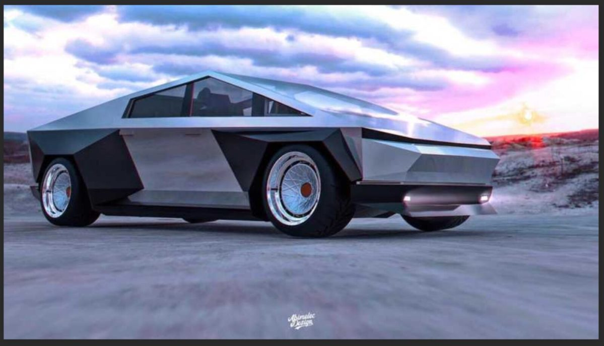 Tesla Cybertruck Hellcat