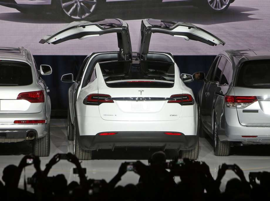 Telsa Model X Unveiling