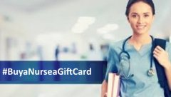 Buy a Nurse a Gift Card hashtag