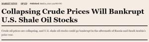russia saudi bankrupt us shale oil