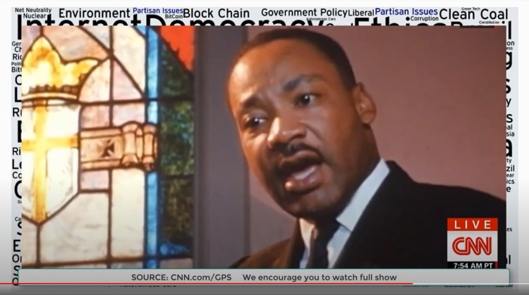 dr martin luther king why blacks cannot lift themselves up