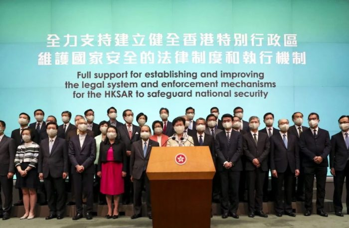 Support for National Security Law for Hong Kong SAR