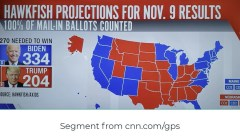 Nov 2020 us presidential election results after mail in ballots are counted
