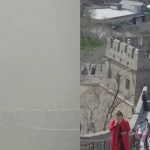 before and during covid smog in great wall of china