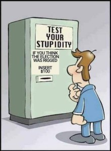 election stupiditiy test