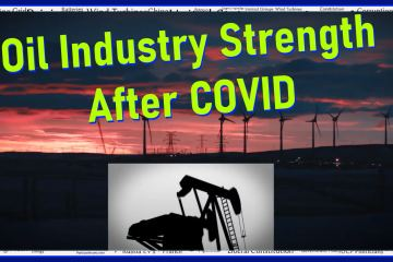 oil industry strength after covid