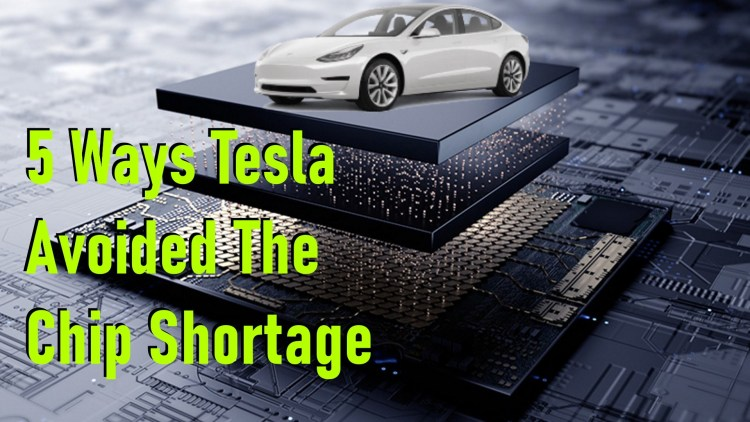 5 ways tesla avoided the chip shortage