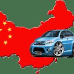 China Cars Graphic - Transparent
