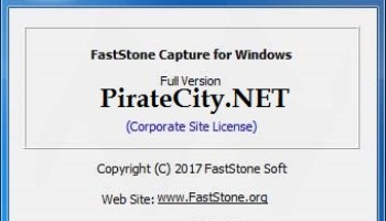 faststone capture 6.9 serial key