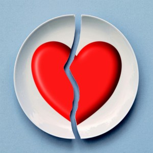 Broken heart from affairs or infidelity