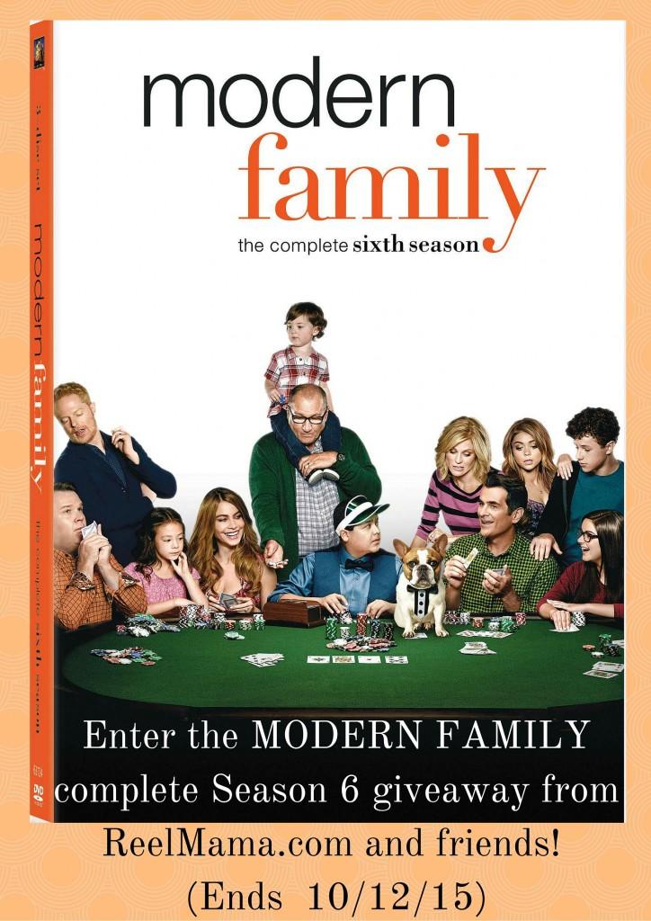 MODERN FAMILY Season 6 giveaway