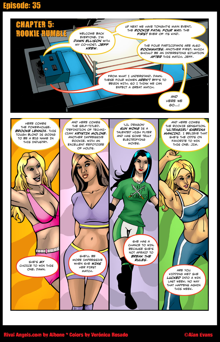 Page 35 – Rookie Rumble!