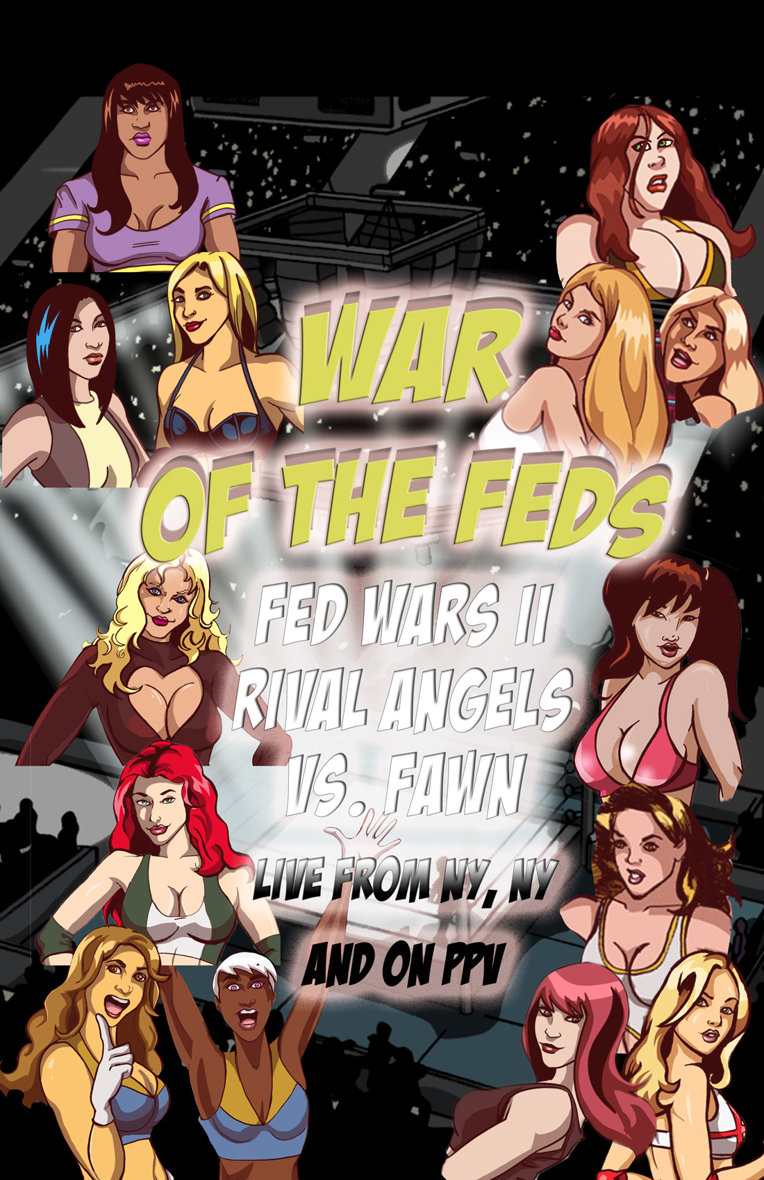 Kickstarter PROMOTER Page – FAWN vs Rival Angels 2