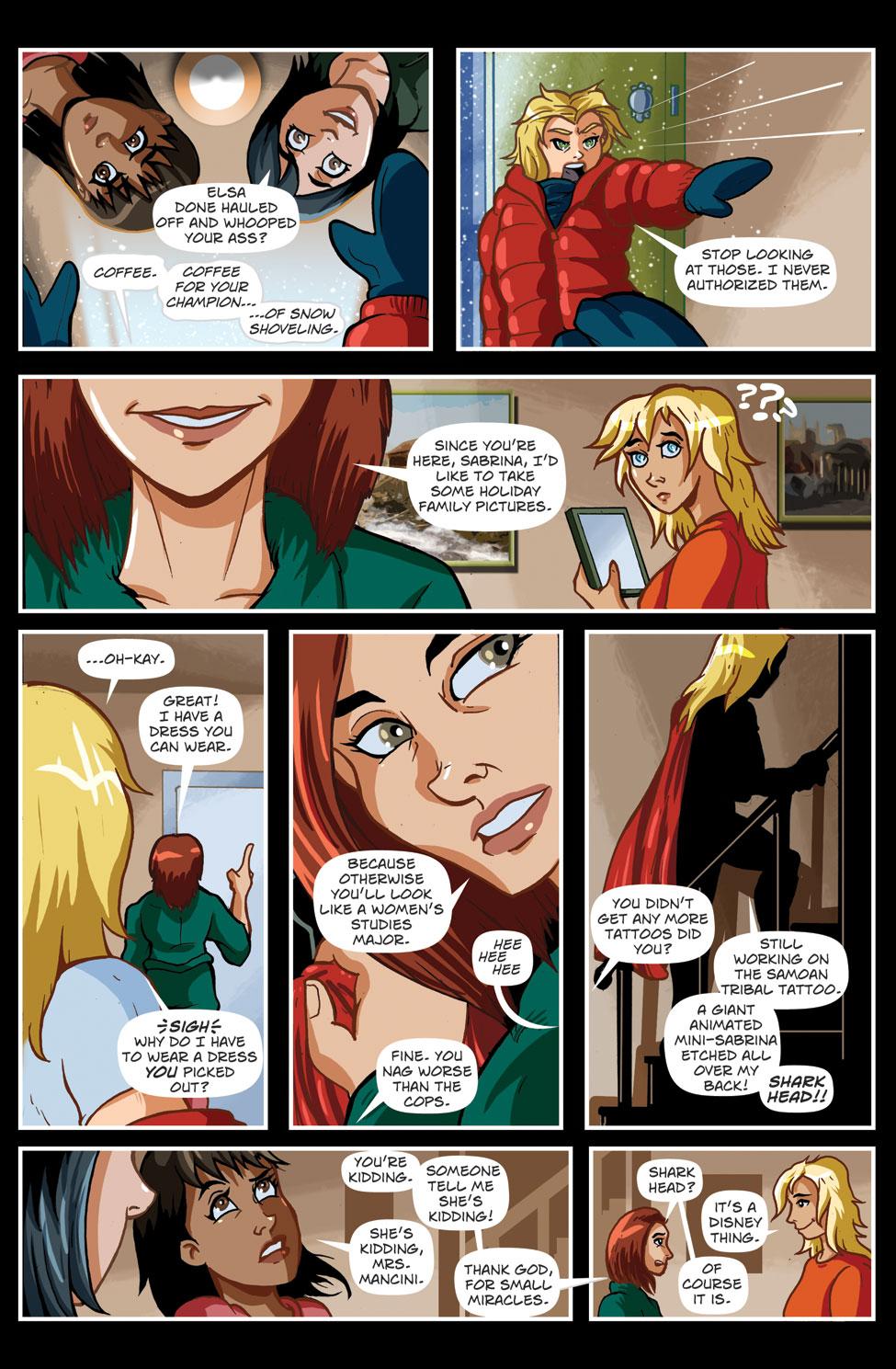 Christmas Angels – Page 09 -Moana