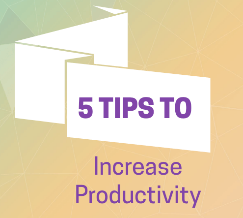 5 Tips to Increase Productivity | Rhinestones & Sweatpants