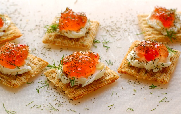 Cream Cheese Pepper Jelly Appetizer by Joe's Healthy Meals