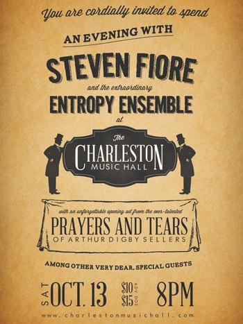 Steven Fiore Gets Collaborative with Entropy Ensemble October 13