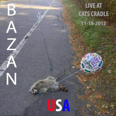 Bazan Takes Control at Cat's Cradle