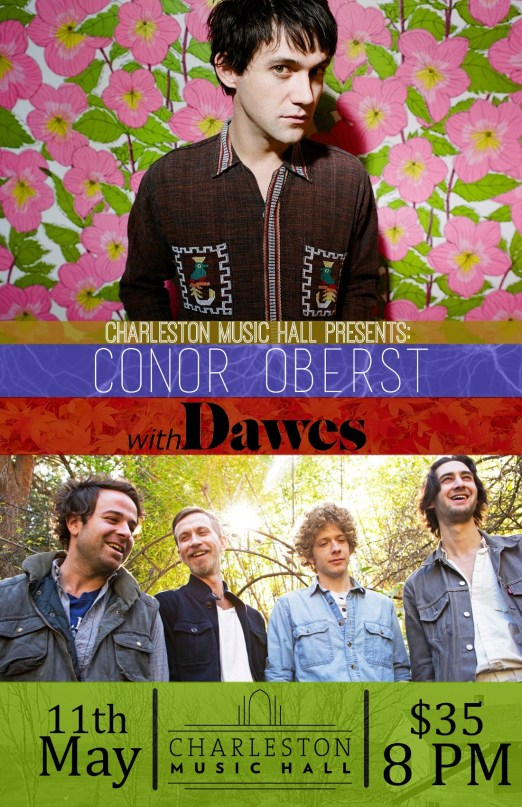 Conor Oberst with Dawes at Charleston Music Hall