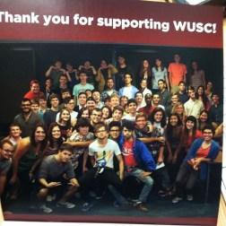 The 2013-2014 WUSC crew