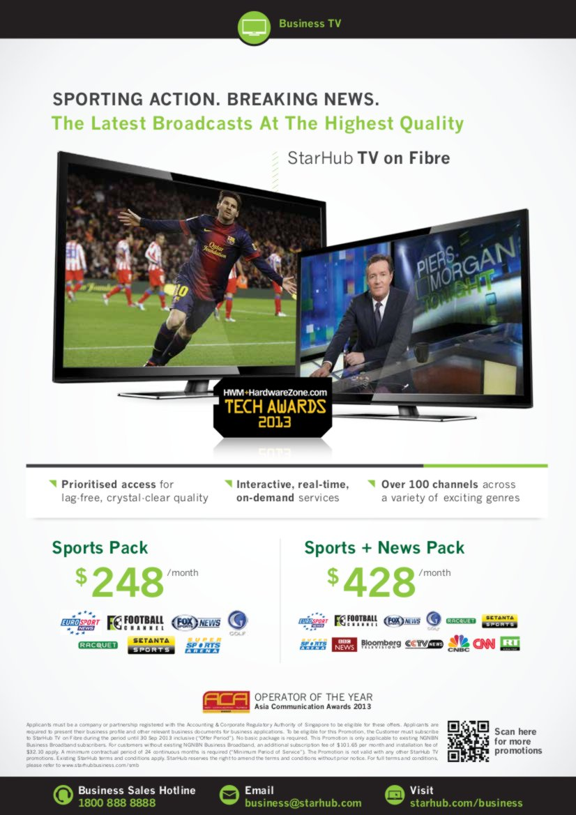 COMEX 2013 - StarHub Promotions Price List - Enterprise Page3