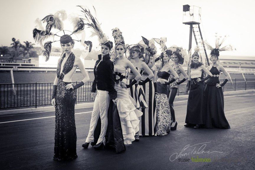 Looking vintage, modern and more styled by Deena and Studio Savvy at 2015 Bing Crosby Opening Day at Del Mar