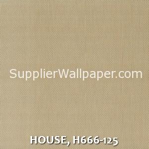 HOUSE, H666-125