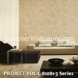 PROJECT VOL.1, 81081-3 Series