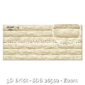 3D Brick - SDB 26502 - Zoom